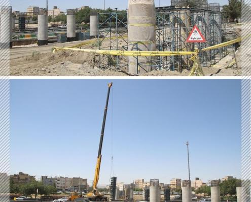 sep 2 495x400 - بازدید مدیرعامل سپاد از روند احداث پل غیر هم سطح ابوطالب