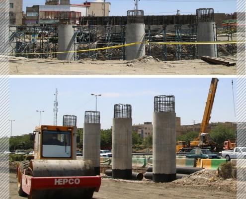sep 3 495x400 - بازدید مدیرعامل سپاد از روند احداث پل غیر هم سطح ابوطالب