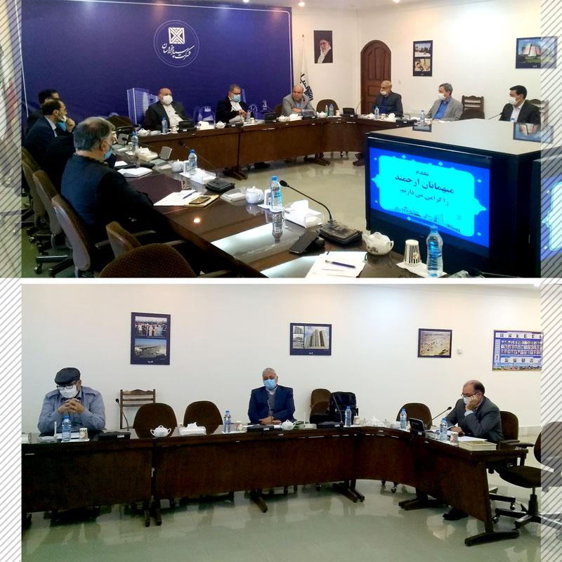 0a2 web - اولین جلسه کارگروه مشورتی دوره پنجم تشکیل جلسه داد