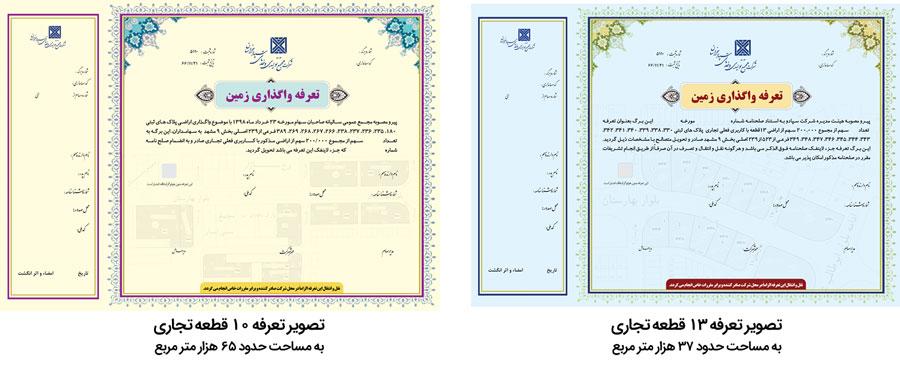 tarefeh - معرفی سهام شرکت سپاد خراسان