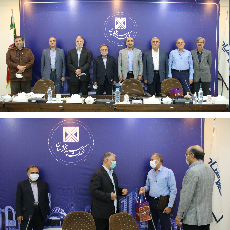 04 - ساختار هیئت مدیره شرکت سپاد خراسان مشخص شد